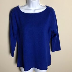 In Cashmere Blue Sweater Size L